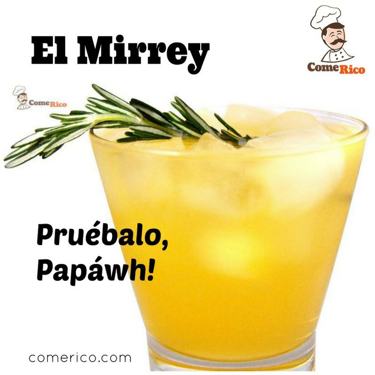 Impresiona a lobukis y papalords con esta ingeniosa bebida: El Mirrey.