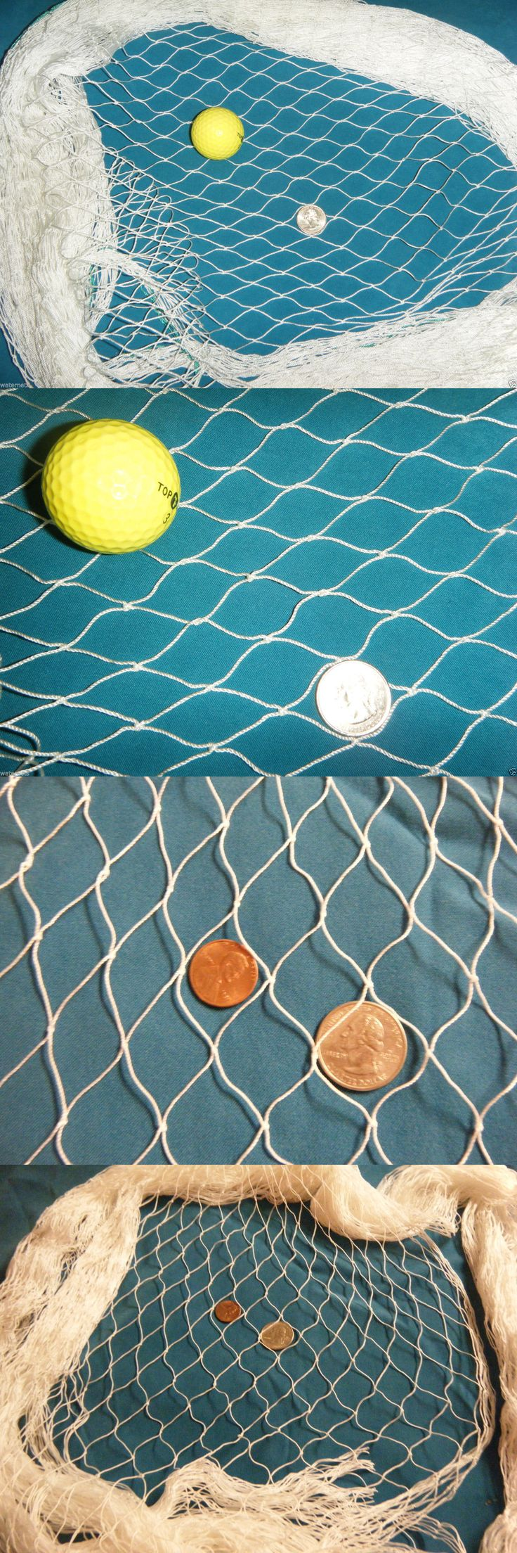 Goals and Nets 165936: 75 X 12 Foot Fish Net Hockey Golf Sports Pet Barrier Koi Pond Fishing Net -> BUY IT NOW ONLY: $109 on eBay!
