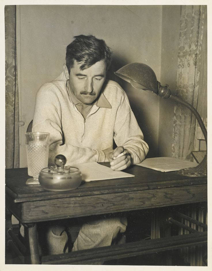 An analysis of the southern writing style of the author william faulkner