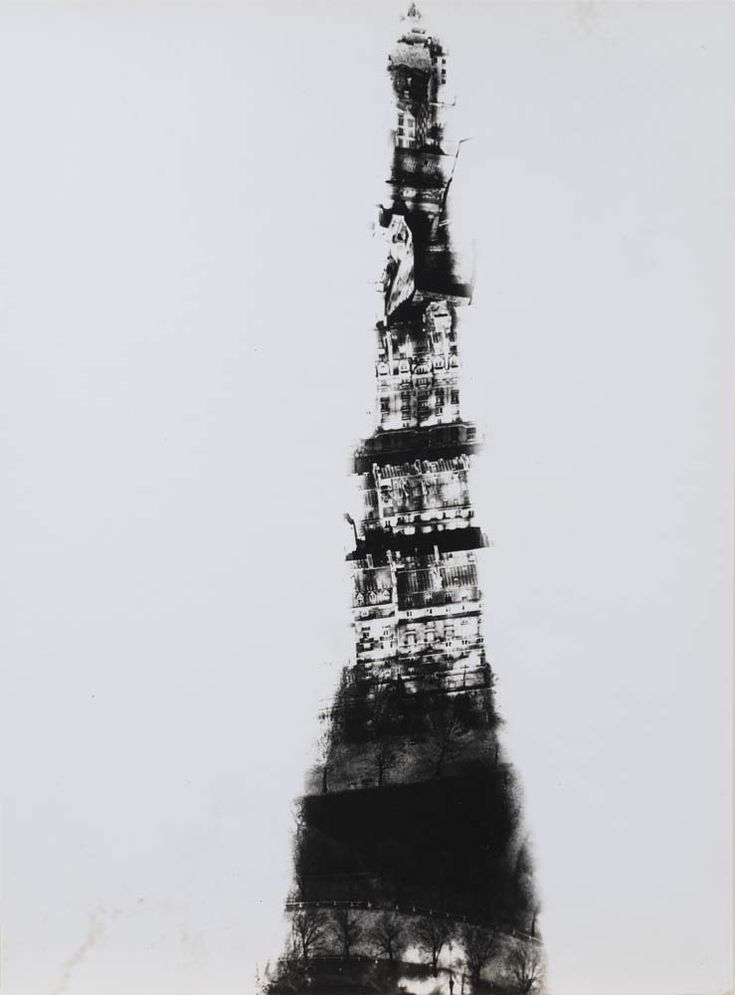 Shadow of the Eiffel Tower, Paris
