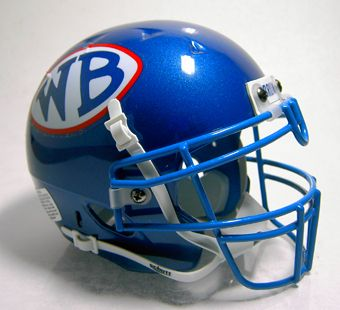 West Brook (TX) High School Mini Football Helmet