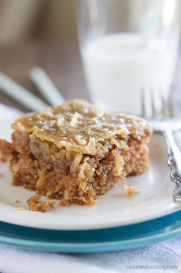 Oatmeal Cake - Taste and Tell