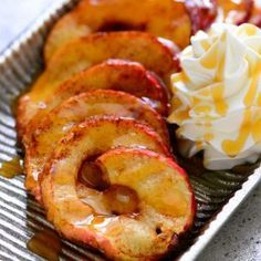 Stir up a little fun the fall with this Baked Apple Tornado recipe! This spiral apple drizzled with caramel is a delicious twist on the classic baked apple.