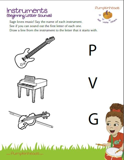 music worksheets for pre k kidz activities. Black Bedroom Furniture Sets. Home Design Ideas