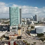 Home of the NBA Champions, the Miami Heat, American Airlines Arena is located just steps from the Vizcayne condo development in downtown Miami.