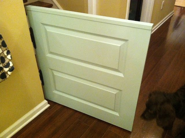 How to create a dutch door (half door) baby or dog gate | The Lowcountry Lady