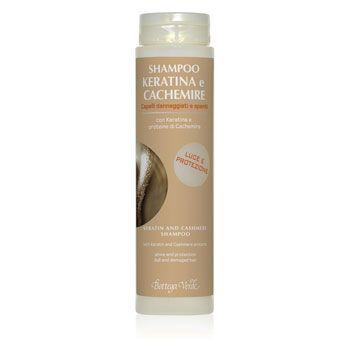 Shampoo Keratina e Cachemire con Keratina e proteine di Cachemire (200 ml) - luce e protezione - capelli danneggiati e spenti
