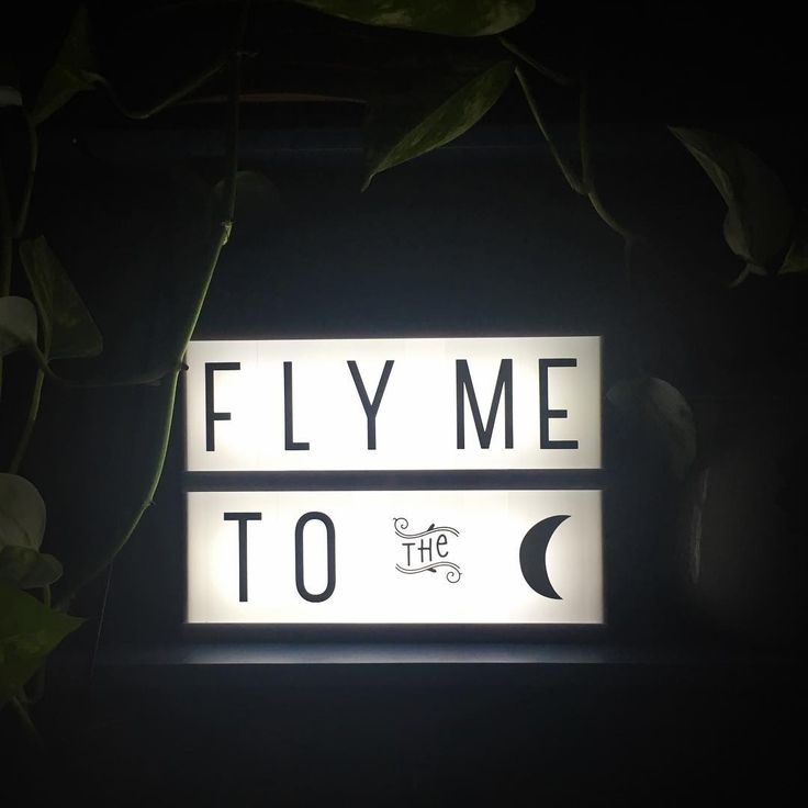 """ #lightbox #alittlelovelycompany #flymetothemoon #franksinatra #littlelovelylightbox #athome"""