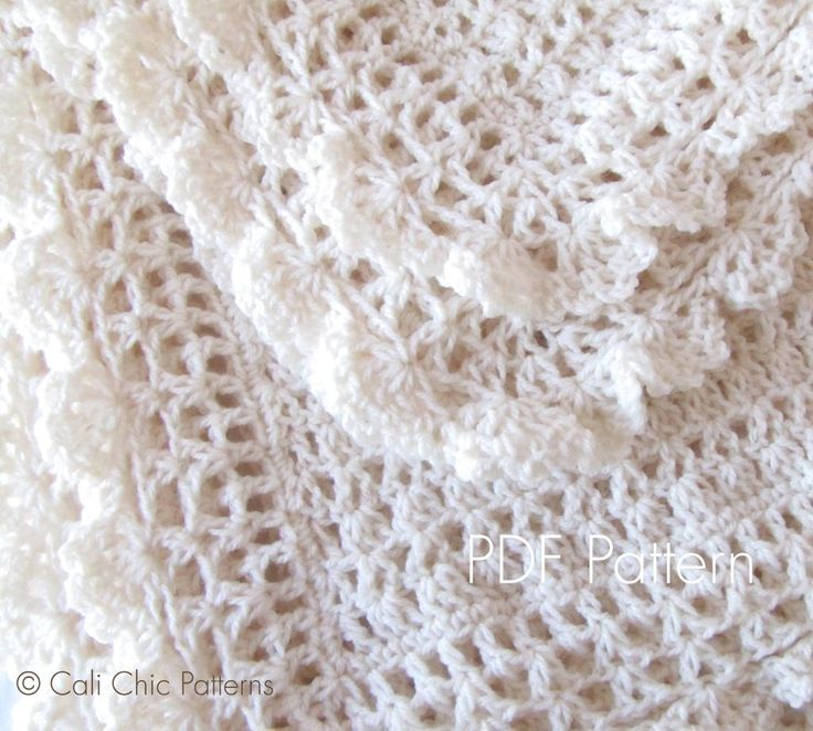1079 best images about Crochet - Baby Blankets on Pinterest