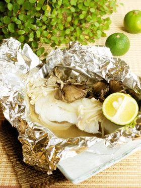 鱈のホイル焼き by るるおか [クックパッド] 簡単おいしいみんなのレシピが271万品
