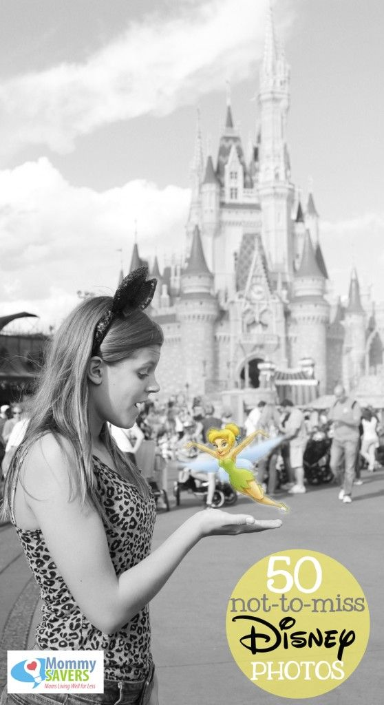List of 50 great photo ideas and poses you won't want to miss on your next Disney vacation