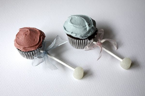 Baby Shower Cupcakes: