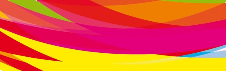 grafika z baneru wycinek koła logotypu hauerpower. kolorowo i agresywnie.