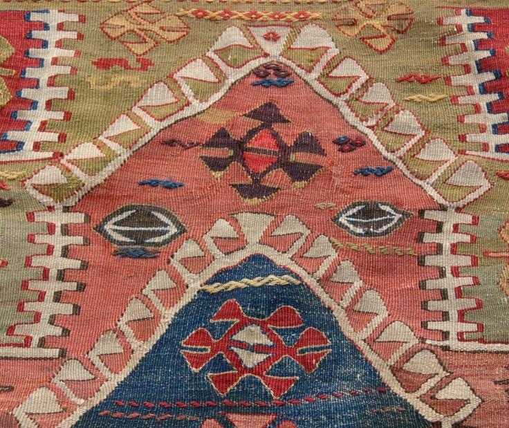 sivrihisar kilim antique kvs collection antique rugs textiles pinterest. Black Bedroom Furniture Sets. Home Design Ideas