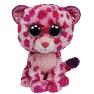 Ty Stuffed Animals | Ty Beanie Boo's Plush Stuffed Animals Pink Big Cat 36085 Glamour The ...