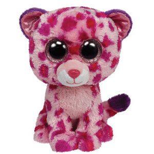 Ty Stuffed Animals | Ty Beanie Boo's Plush Stuffed Animals Pink Big Cat 36085 Glamour The ...