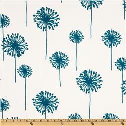 Premier Prints Indoor/Outdoor Dandelion Blue Moon