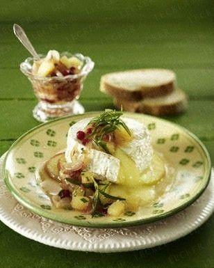Gebackener Camembert mit Apfel-Chutney Rezept - Chefkoch-Rezepte auf LECKER.de | Kochen, Backen und schnelle Gerichte