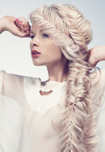 Now that is a fishtail braid