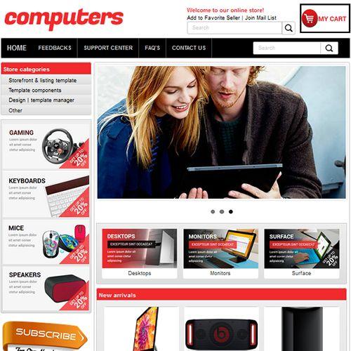 Rockscripts eBay Template - eBay Store Template - eBay Listing Template