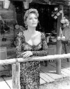 """Photos From Julie London's Television Appearances  LARAMIE, """"Queen of Diamonds"""""""