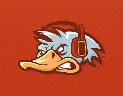 "Confira este projeto do @Behance: ""Quacken - Mascot Logo"" https://www.behance.net/gallery/18493419/Quacken-Mascot-Logo"