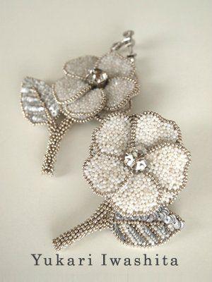 Вышиваем бисером: создаем брошь-цветок из отдельных элементов - Ярмарка Мастеров - ручная работа, handmade