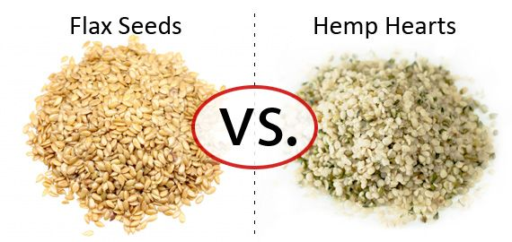 Nutrition Faceoff: Flax Seeds vs. Hemp Hearts ♥ Hemp Hearts taste yummy thou. Flax... meh its because it's good for me.
