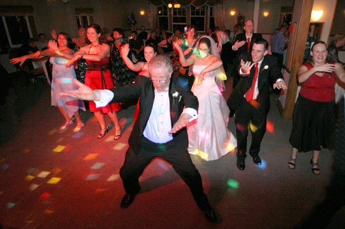 Good times at Wedding dance
