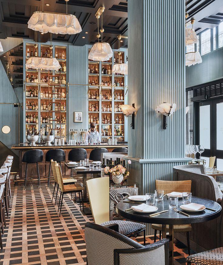 Kelly Wearstler Interiors Villon Villon Restaurant