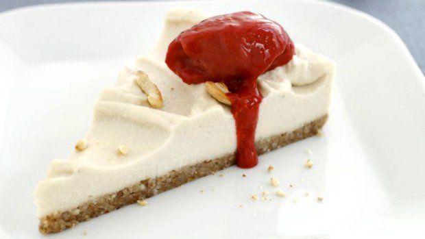 Raw kešu cheesecake  Foto: