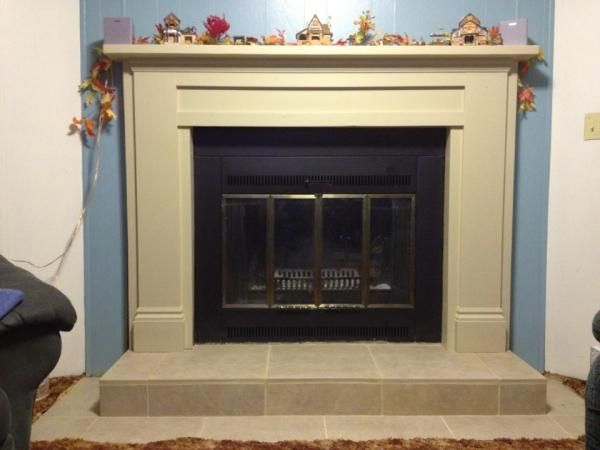 mimiu0027s faux mantle do it yourself home projects from ana white - Electric Fireplace Mantels