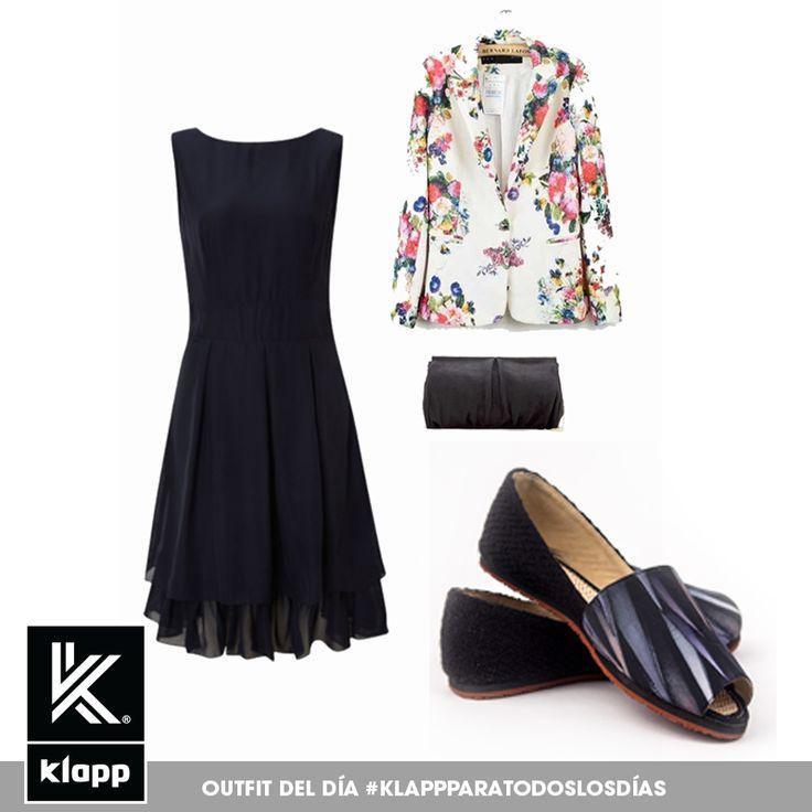 No siempre tienes que usar tacones para ir a trabajar, usa nuestras #Klapp con un blazer y una linda cartera para un look formal y cómodo! #ColecciónColibrí #Klappparatodos #Klappargatas #AmomisKlapp #Mystyle