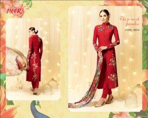 Kimora Heer vol-9 designer satin cotton collections 11 pc catalog
