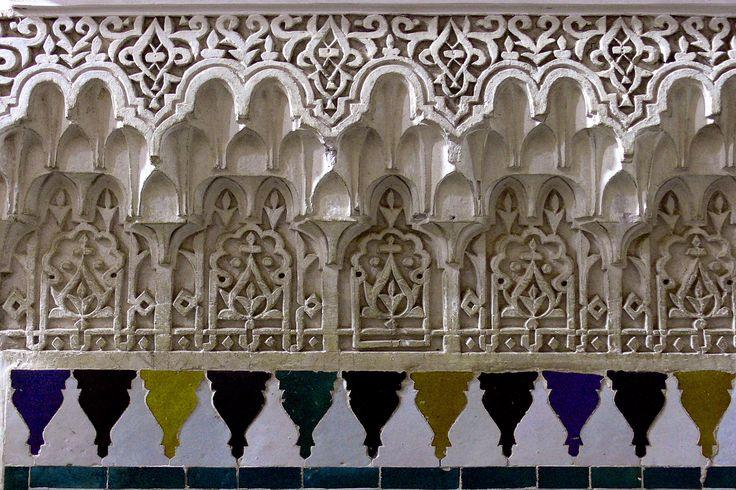https://flic.kr/p/RD1g2a | MARRAKECH (Maroc). Marrakech-Tensift-Al Hauz. 2007. Palais de la Bahia. Detalle.