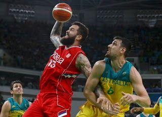 Blog Esportivo do Suíço:  Sérvia destrói a Austrália e chega à final em sua 1ª participação olímpica