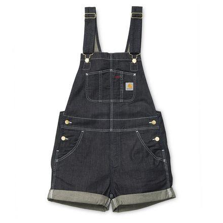 Carhartt WIP W' Bib Short http://shop.carhartt-wip.com:80/us/women/sale/shorts/I019328/w-bib-short