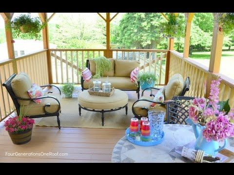 Deck Decor | Deck Decor Ideas| Deck Furniture And Decor