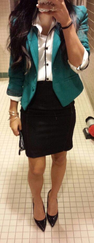 Work oficina falda de vestir blazer
