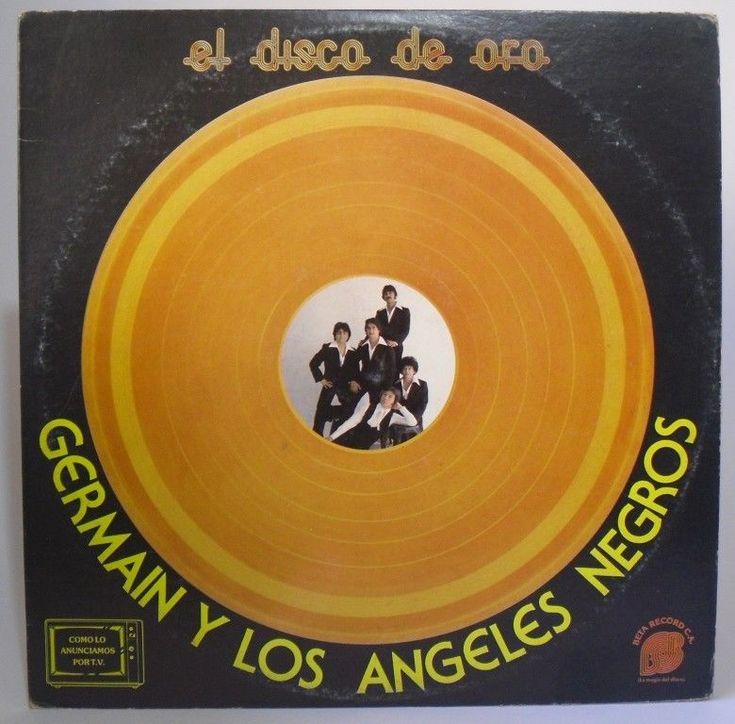 Los Angeles Negros & Germain - Disco de Oro - LP Hehco en Venezuela #LatinPop