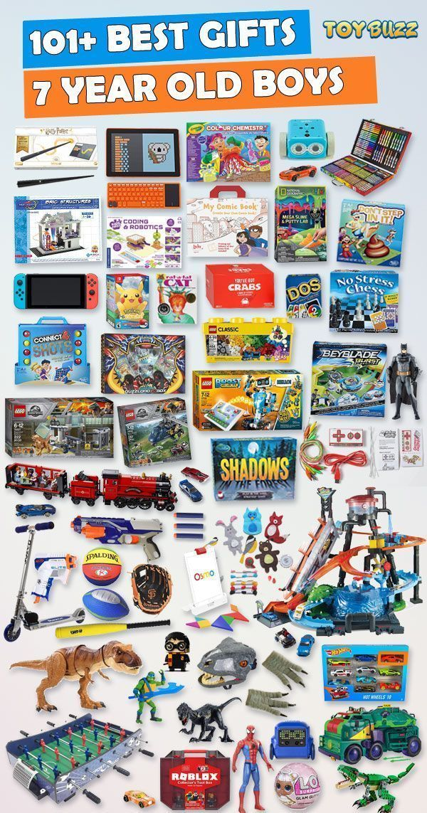 Gifts For 7 Year Old Boys 2020 – List of Best Toys | Best gifts