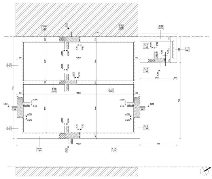 27 best 081028 reforma de una vivienda unifamiliar en kasalova cimentacin del estado previo malvernweather Images