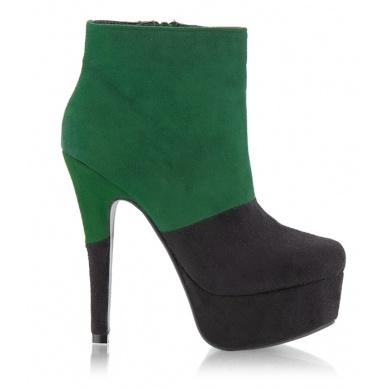 Botki DZYBS15 Black/Green