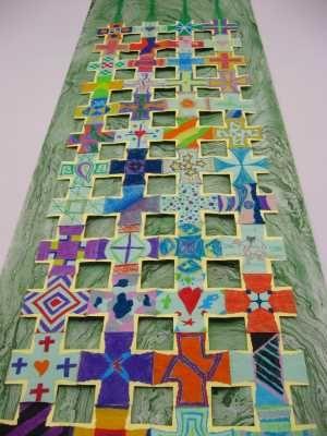 community created liturgical art