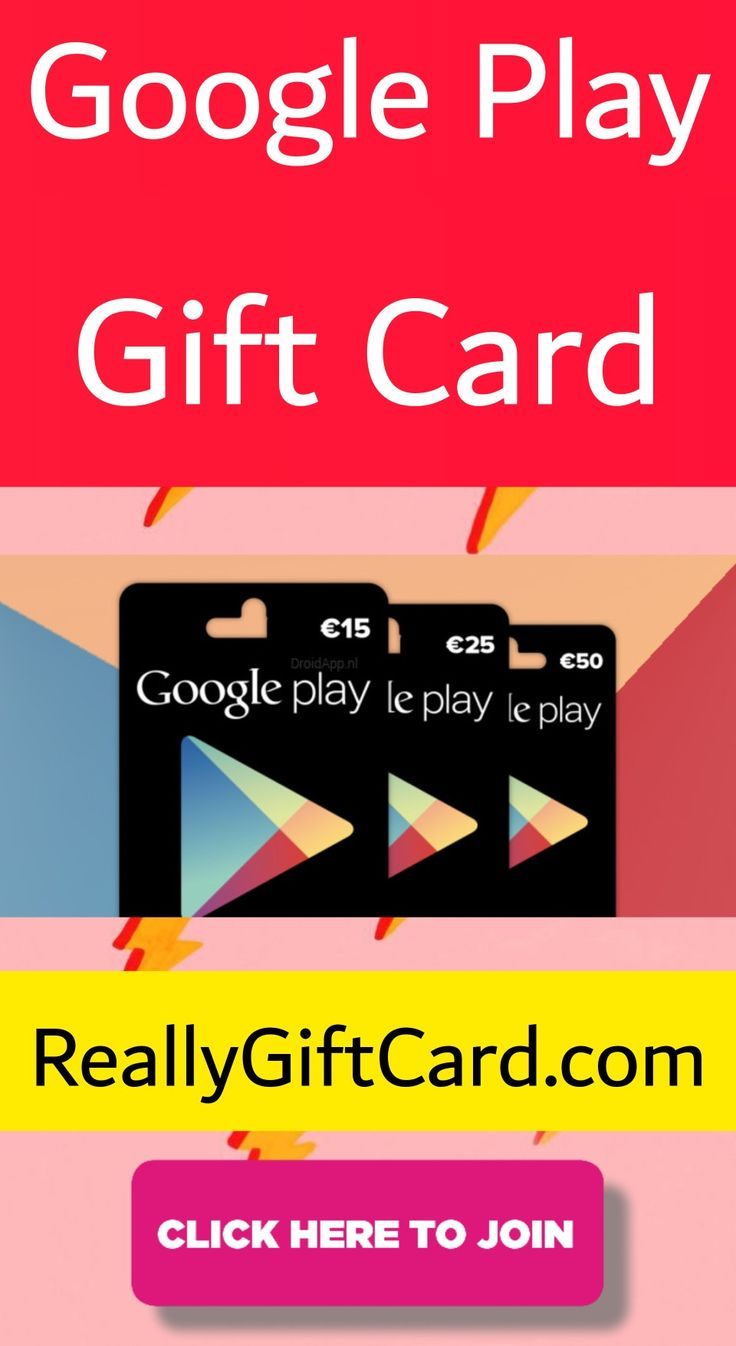 Google play gift card 2020 in 2020 google play gift