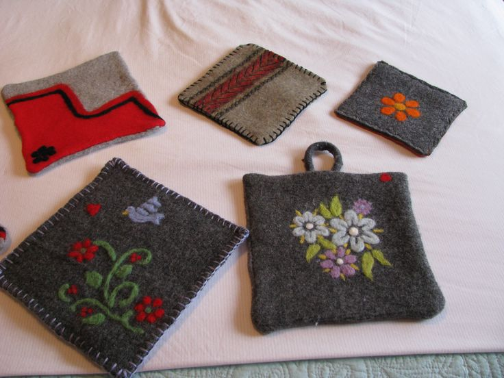 potholders for craft show.
