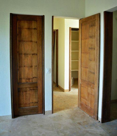 Crushed Bamboo Panel Doors