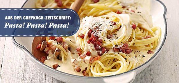 Pasta aus der CHEFKOCH-Zeitschrift