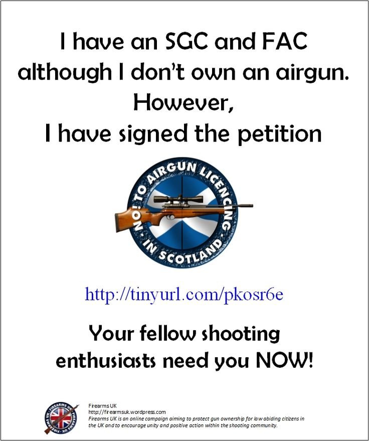 7 best No to Airgun Licensing in Scotland Campaign images on Pinterest - importance of petition