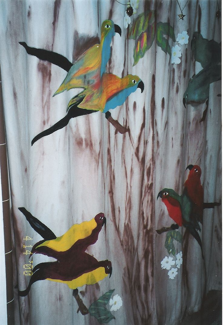 1000 Images About Bird Shower Curtain On Pinterest